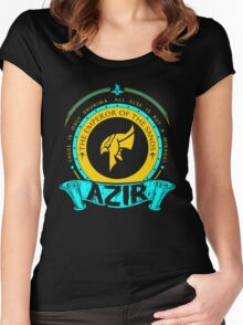 Azir - The Emperor Of The Sands Women's Fitted Scoop T-Shirt