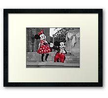 Mickey & Minnie Framed Print