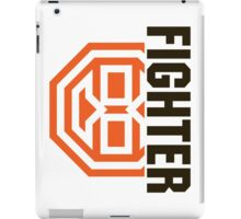 Octagon MMA Fighter Logo iPad Case/Skin