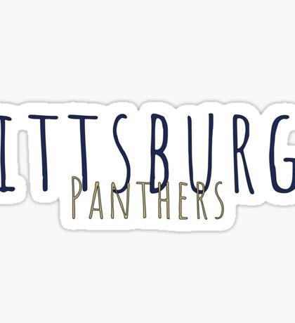 Pittsburgh Panthers Sticker