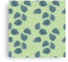 Tilia pattern / Lindenmuster Canvas Print