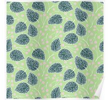 Tilia pattern / Lindenmuster Poster