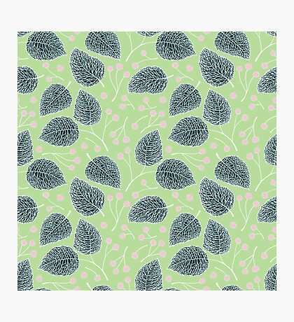 Tilia pattern / Lindenmuster Photographic Print