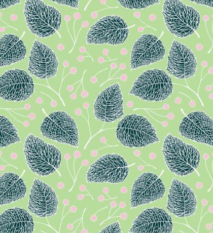 Tilia pattern / Lindenmuster Sticker