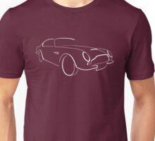 Aston Martin DB6 graphic (White) Unisex T-Shirt