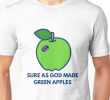 Chicago Cubs World Series Green Apples Unisex T-Shirt
