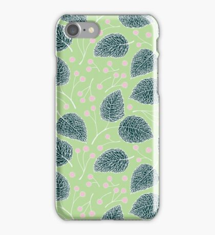 Tilia pattern / Lindenmuster iPhone Case/Skin