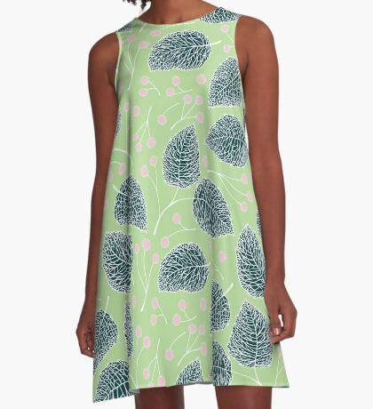Tilia pattern / Lindenmuster A-Line Dress