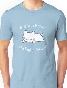 Cute Cat Pun T-Shirt Unisex T-Shirt