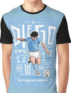 diego maradona napoli Graphic T-Shirt