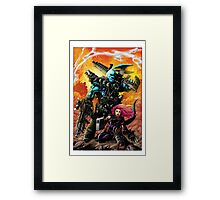 "Salty Roo ""Mutant Eradication"" Framed Print"