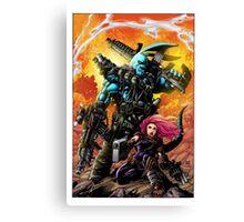 "Salty Roo ""Mutant Eradication"" Canvas Print"