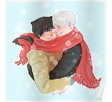 Yuri on Ice - Baby It's Cold Outside Poster