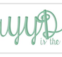 KayyDee Sticker