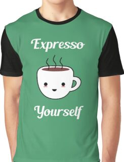 Funny Coffee Pun Graphic T-Shirt
