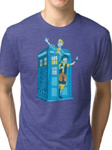Most Excellent Time Travellers Tri-blend T-Shirt
