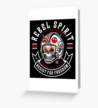 Rebel Since 1977 Greeting Card