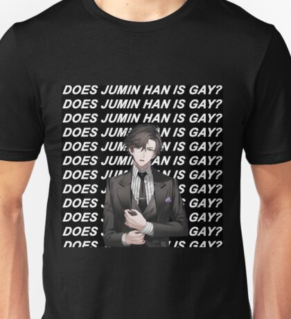DOES JUMIN HAN IS GAY? (BLACK) Unisex T-Shirt