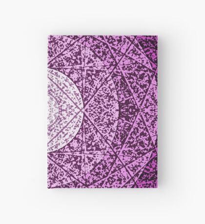 worn purple Hardcover Journal