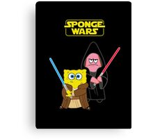 Sponge Wars Canvas Print