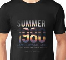 Camp Crystal Lake Friday the 13th Unisex T-Shirt