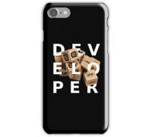 developer coder programming lenguage iPhone Case/Skin