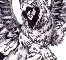 Mythical Griffin Sticker