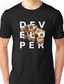 developer coder programming lenguage Unisex T-Shirt