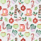 Cozy Christmas Pattern by Tangerine-Tane