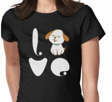 Love Dogs Womens Fitted T-Shirt