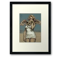 """Call of Cthulyn, 2014""  Framed Print"