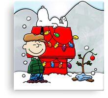 CHARLIE BROWN CHRISTMAS 2 Canvas Print