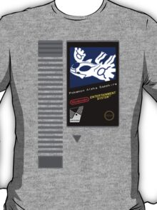 Nes Cartridge: Pokemon Alpha Sapphire T-Shirt