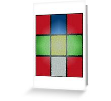 RUBIK'S CUBE WITH A DIFFERENCE Greeting Card