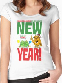 Happy Grump Year! Women's Fitted Scoop T-Shirt