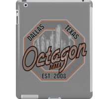 Octagon MMA Skyline Logo iPad Case/Skin