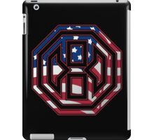 Octagon MMA USA Logo iPad Case/Skin