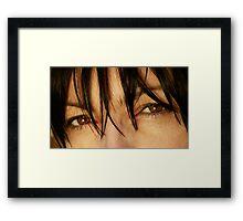 "Love The Way You Love  "" Dark eyes. ""  by   Brown    Sugar .  Views: 2644. Thanks ! Muchas gracias ! Большое спасибо ! Dziękuję ! Framed Print"