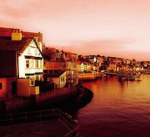 Whitby Harbour by Mounty