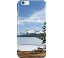 Maligne Lake nr. Jasper Canada iPhone Case/Skin