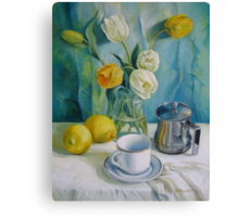 Happy morning Canvas Print
