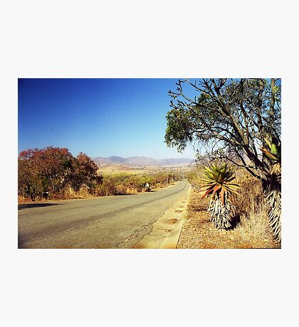 Mpumalanga Road, South Africa Photographic Print