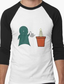 Grow A Spine Men's Baseball ¾ T-Shirt