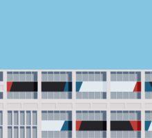 Le Corbusier Facade S03-1 Sticker