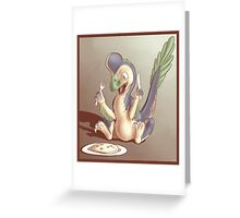 Ozzy the Oviraptor Greeting Card