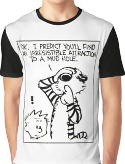 Calvin and Hobbes - Merry Christmas  Graphic T-Shirt
