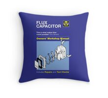 Owners' Manual - Flux capacitor - T-shirt Throw Pillow