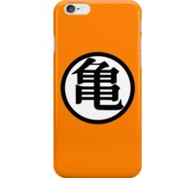 Goku Symbol White (Back) iPhone Case/Skin