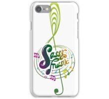 Sassy Musik Merch! iPhone Case/Skin