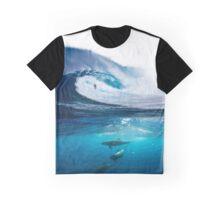 Surfing art Graphic T-Shirt